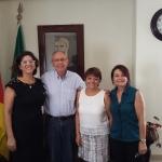 SINDILEI/RS reúne-se com presidente da JUCERGS