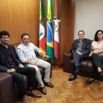 SINDILEI/RS reúne-se com novo presidente da JUCISRS