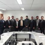 Sindilei/RS participa em reunião com o Ministério da Justiça em Brasília/DF