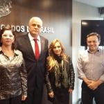 SINDILEI/RS visita Presidente da OAB/RS